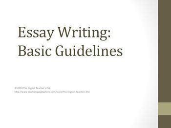 What needs to be included in a thesis statement
